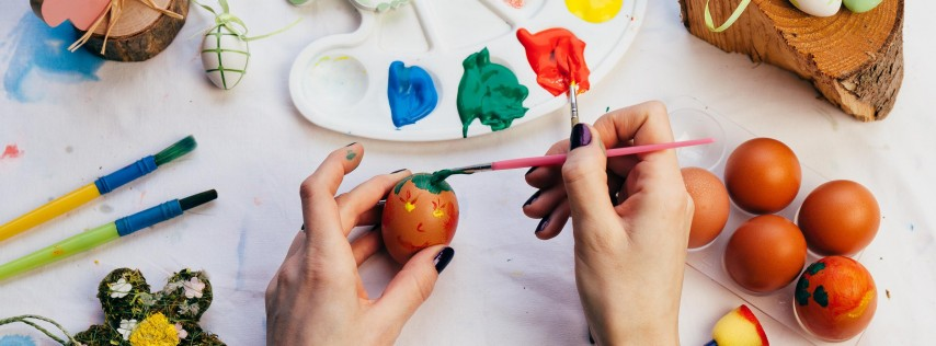 Stroke of Genius: Egg Painting Eggs-travaganza -Dadeland