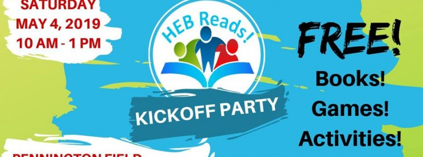 HEB Reads! Kickoff Party