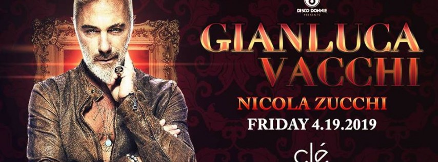 Gianluca Vacchi / Friday April 19th / Clé