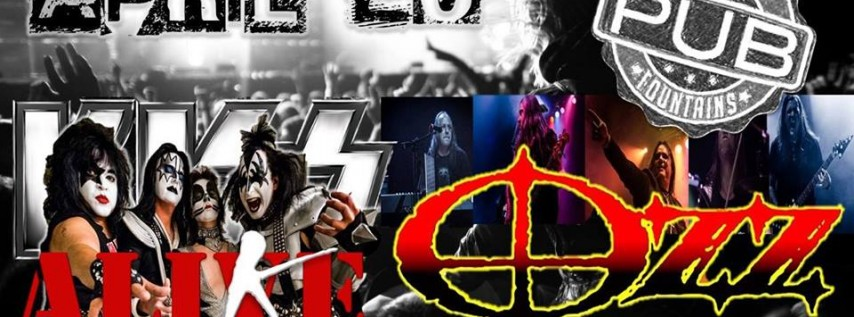 WOW Easter Weekend/ 4-20 concert with OZZ + KISS ALIKE