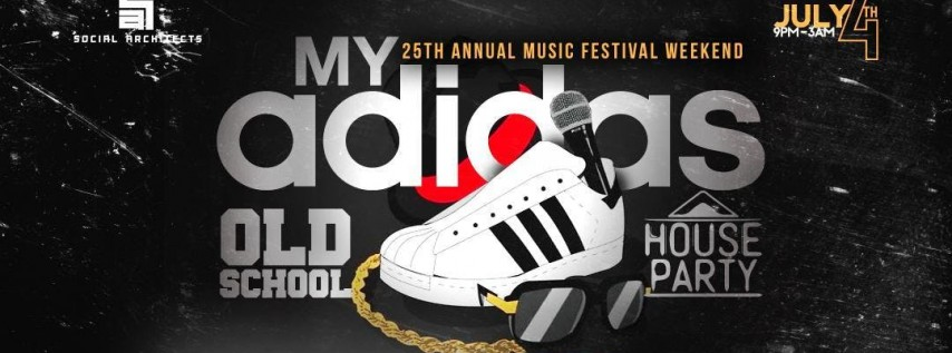 ESSENCE MUSIC FESTIVAL - MY ADIDAS OLD SCHOOL HOUSE PARTY
