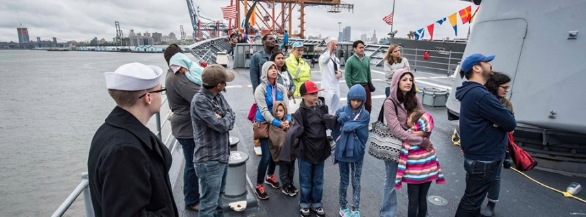 Free General Public Ship Tours - Day 1