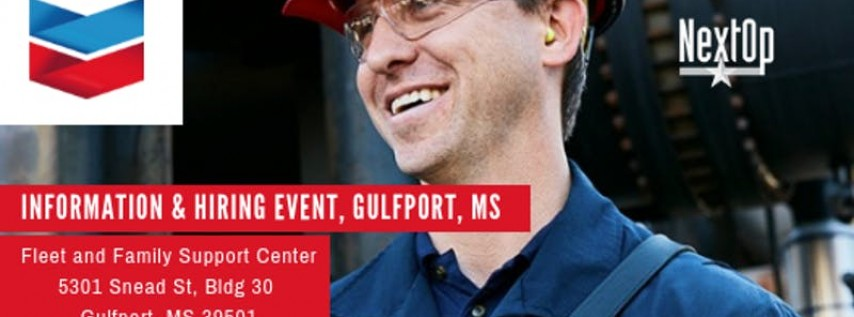 Chevron Information & Hiring Event Gulfport Mississippi