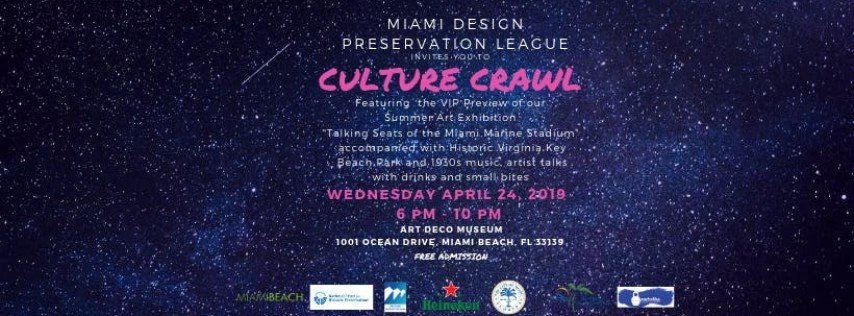 Culture Crawl April 24th, 2019