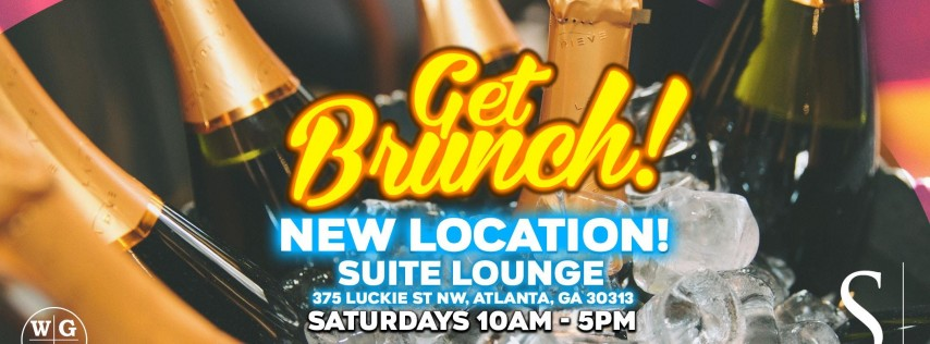 Get Brunch! Saturdays at Suite Lounge