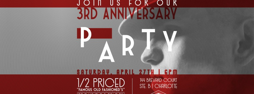 3rd Anniversary Party at The Cotton Room