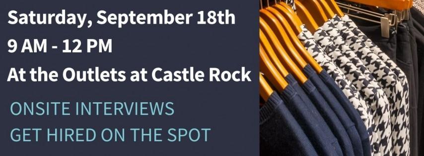 Outlets at Castle Rock Hiring Blitz