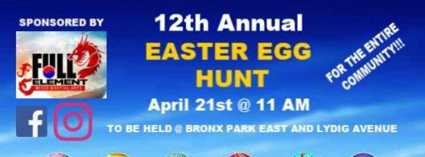 FREE 2019 Annual COMMUNITY Easter Egg Hunt!