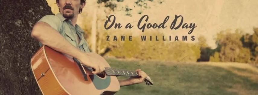 Zane Williams, April 25