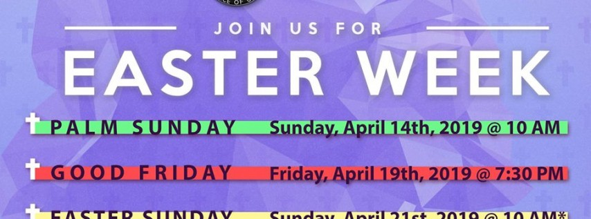 Celebrate Easter At The Gathering Church
