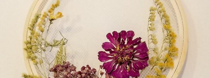 Dried Flower Wreath Workshop at LH