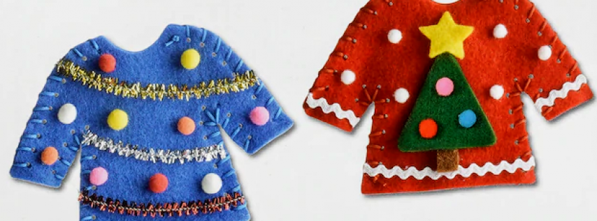 Create-Your-Own Mini Ugly Sweater Ornament
