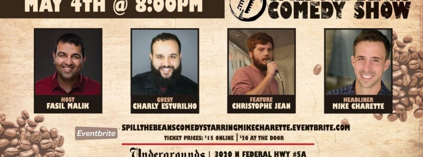 Spill the Beans Stand Up Comedy Show- Mike Charette