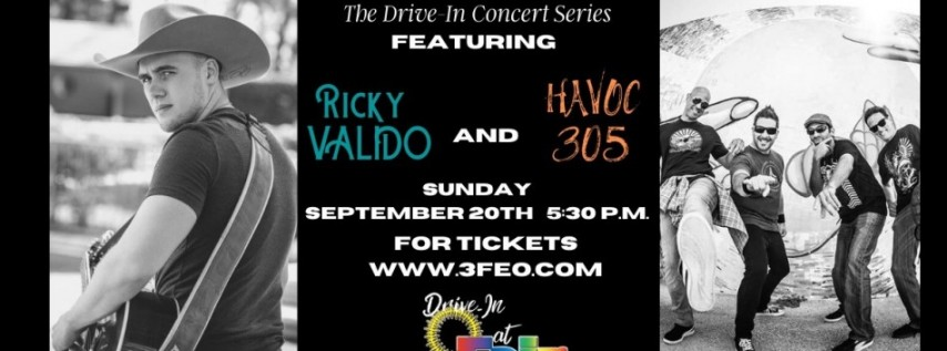 Ricky Valido and Havoc 305 LIVE in Concert