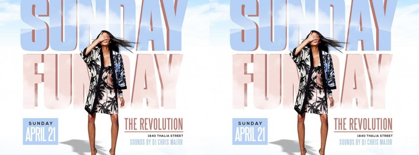 SUNDAY FUNDAY - EASTER DAY PARTY