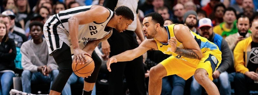 Denver Nuggets vs San Antonio Spurs NBA Playoffs New Orleans Watch Party