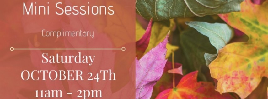 Complimentary Fall mini sessions