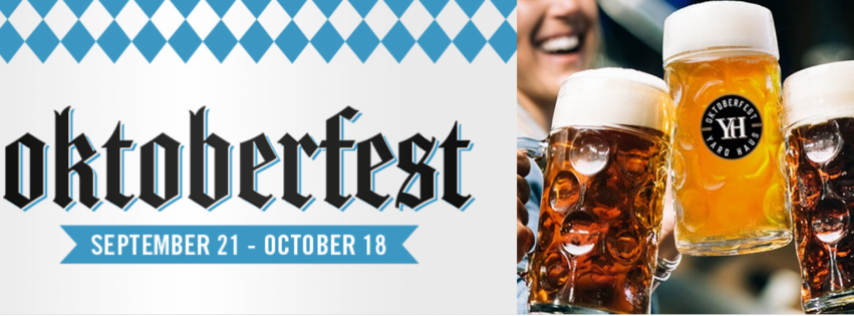 Oktoberfest at Yard House