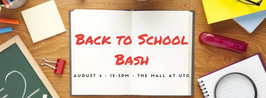 Back to School Bash at the Mall at UTC