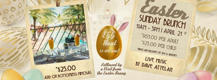 Easter Sunday Brunch at the National Hotel