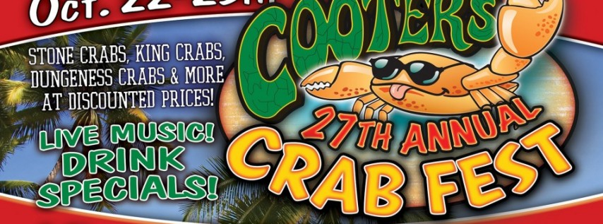 Cooters 27th Annual Crab Fest