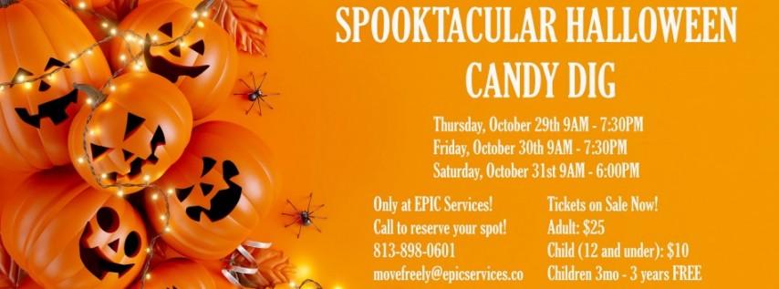 Spooktacular Halloween Candy Dig