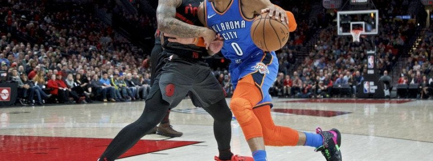 Portland Trail Blazers vs OKC Thunder NBA Playoffs New Orleans Watch Party