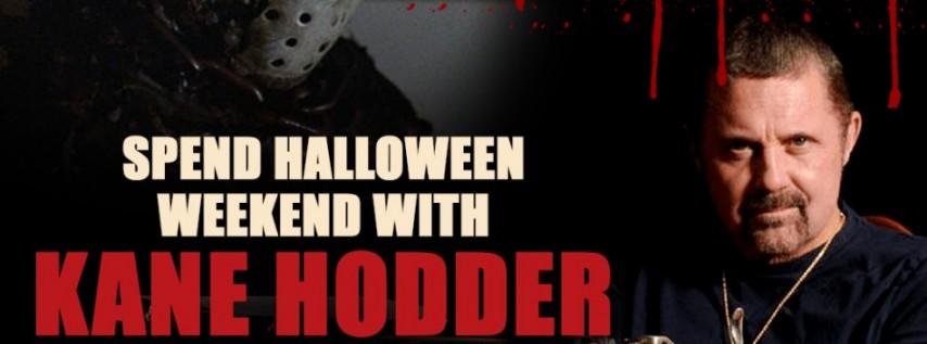 Exclusive VIP Halloween Meet and Greet with Kane Hodder aka Jason Voorhees Oct 3