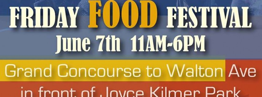 161st Street Friday Food Festival
