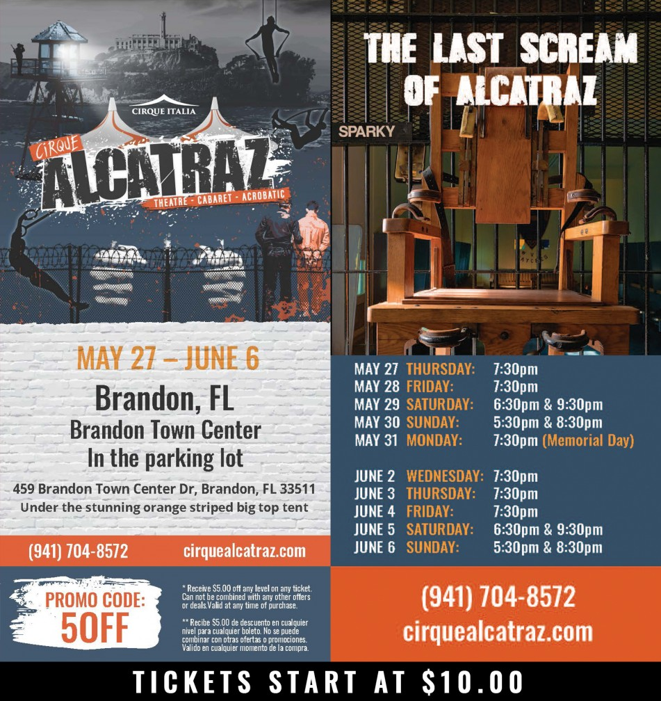Cirque Alcatraz Brandon, FL