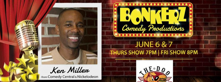 Ken Miller from Comedy Central and Nickelodeon, with Charlie Bowie