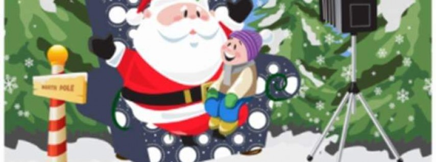 Santa Claus at Elite Fitness
