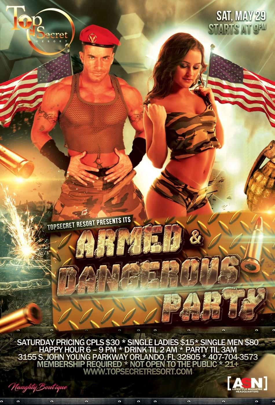 SIN-Dependence Weekend - Armed and Dangerous @ TopSecret Resort