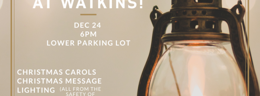 Drive-In Christmas Eve Service