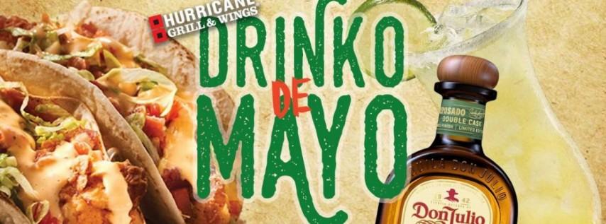 It's a Cinco De Mayo Weekend Patio Party!