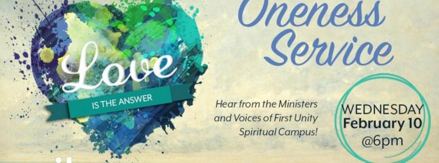 Oneness Service