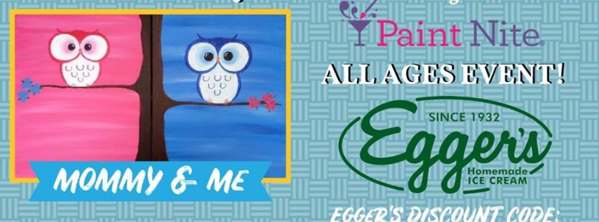 Mother's Day YAYmaker Paint Nite at Egger's Ice Cream Parlor 6+