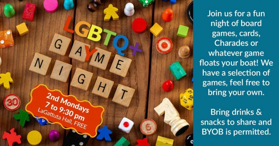 LGBTQ+ Game Night