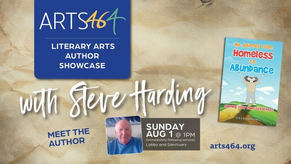 ARTS 46/4 Literary Arts Author Showcase with Steve Harding