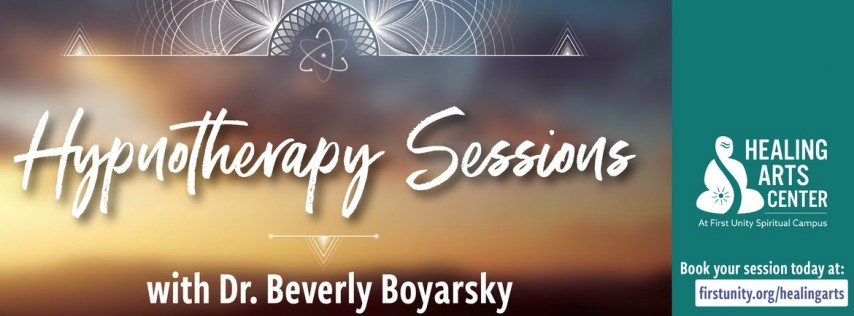 Hypnotherapy Sessions with Dr. Beverly Boyarsky