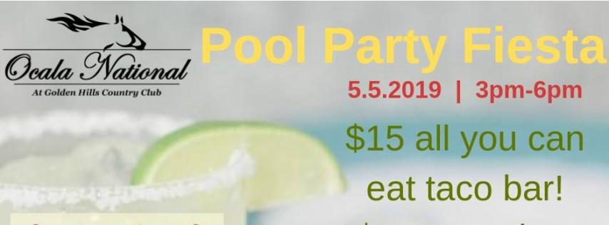 Cinco De Mayo Pool Party Fiesta