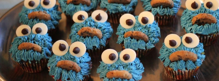 Junior Baker - How to: Cookie Monster Cupcakes