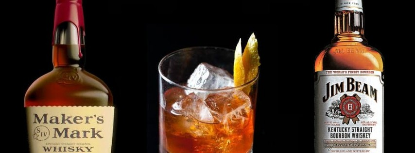 Cocktails with Jim Beam and Maker's Mark