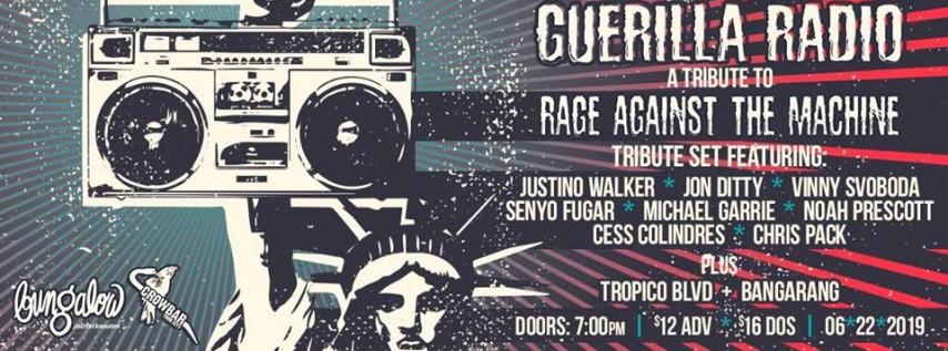 Guerilla Radio: A Tribute to Rage Against the Machine
