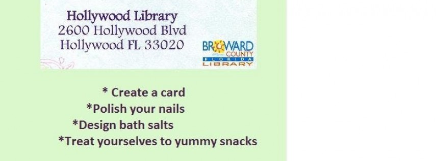 Mother's Day at the Hollywood Library
