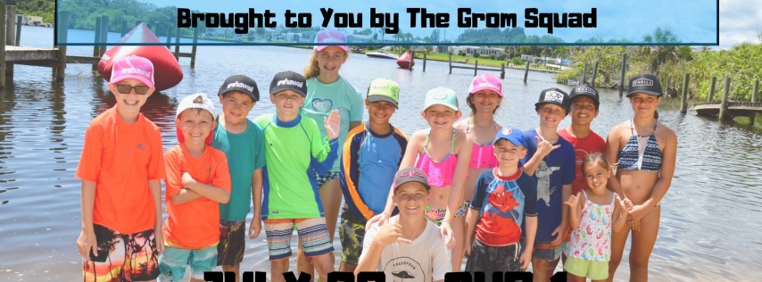 Kid's Stand Up Paddleboard Camp - Summer Session 4