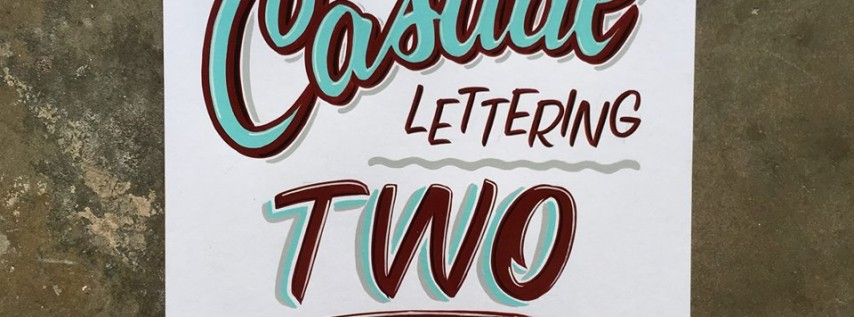 Casual Lettering II with Sun Signs