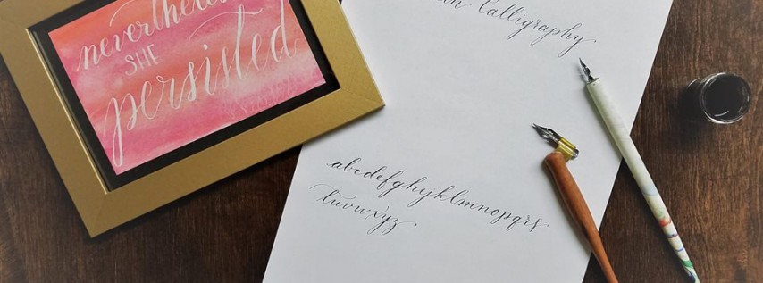 Modern Calligraphy for the Beginner with Peabody Calligraphy