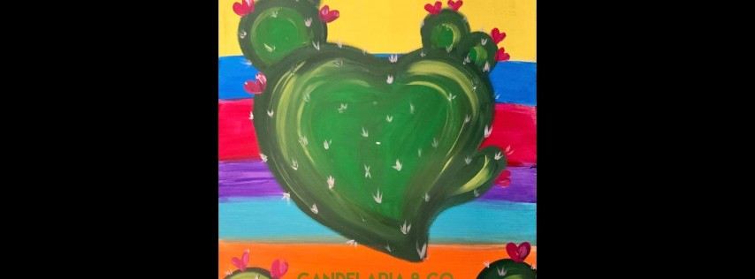 Cactus Paint Class at And Everything Nice