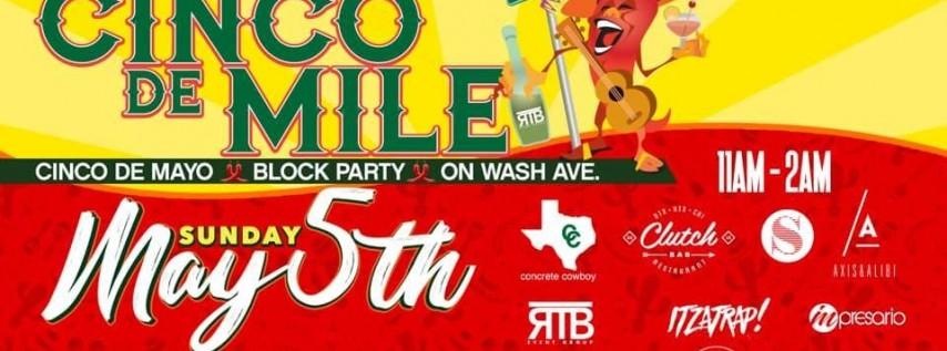 4th Annual Cinco de Mile :: Washington Ave Block Party